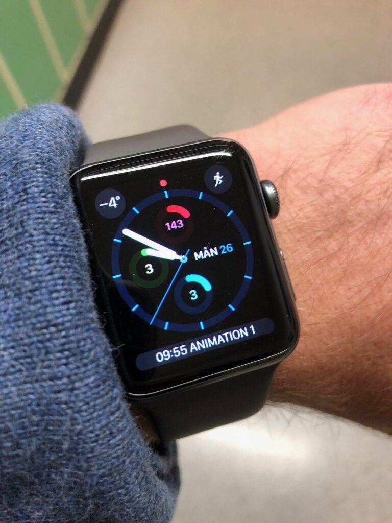 apple watch, wristwatch, watch